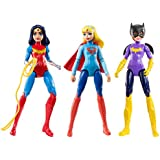 DC Super Hero Girls Action Figure (3 Pack)
