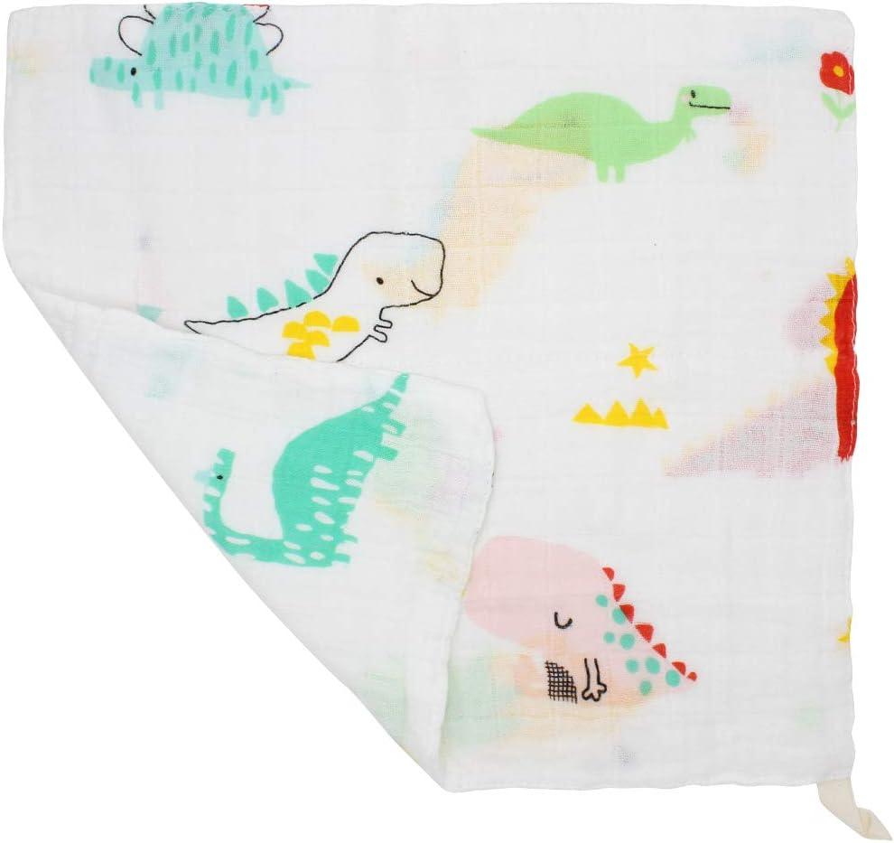 27 X 27cm Accesorio de Beb/é Pa/ñuelo Para Ni/ños Pack de 6 LifeTree Suave Toallas de lavabo Algodon Toalla Infantil Muselinas Bebe