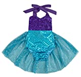 Carkoo Mermaid Baby Girl One Piece Swimsuits With