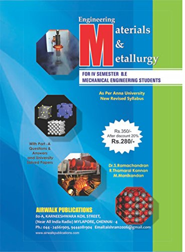 Engineering Materials And Metallurgy - Import It All