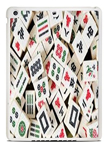 Mah Jong Tiles Mahjong White iPad Air Silicone Case