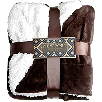 Amazon Com Northpoint Newport Micro Fleece Plush Blanket