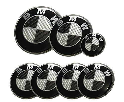 MonkeyJack 3D Metal V8 Racing Decal Flag Car Emblem Sticker Badge for Car Body Silver