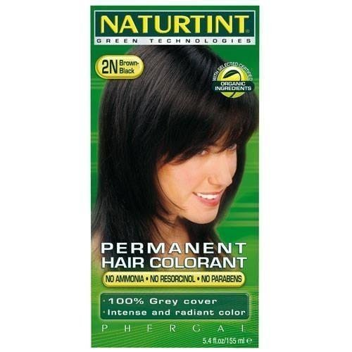 Kit 2n Brown Black (Naturtint Permanent Hair Colors Black Brown 2n - 1 CT, 2 pack by Naturtint)