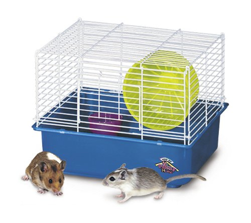 Super Pet Deluxe Hamster My First Home, 1-Story (Cage Home First)