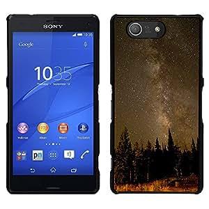 Las maderas antiguas - Metal de aluminio y de plástico duro Caja del teléfono - Negro - Sony Xperia Z4v / Sony Xperia Z4 / E6508