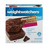 Weight Watchers Chocolate Brownies, 4 Brownies, 5.1 Oz. Net (Pack of 3)