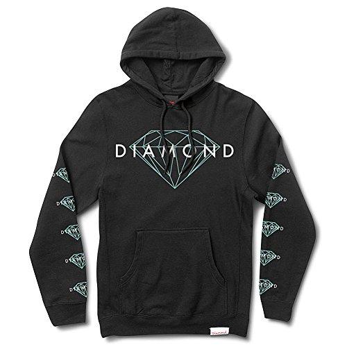 Diamond Supply Co. Men's Brilliant Pullover Hoodie Black L (Diamond Supply Co Shirts Women compare prices)