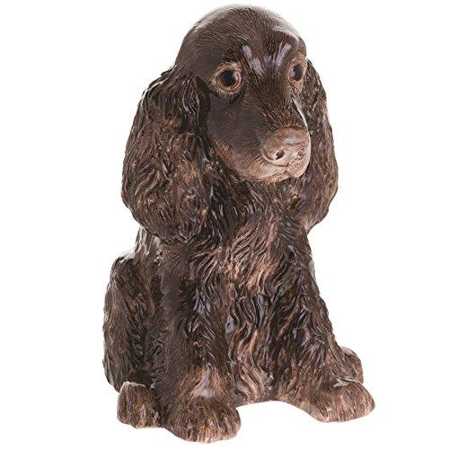 John Beswick JBMBA10 Cocker Spaniel Brown Dog Money - Cocker Dog Spaniel Bank