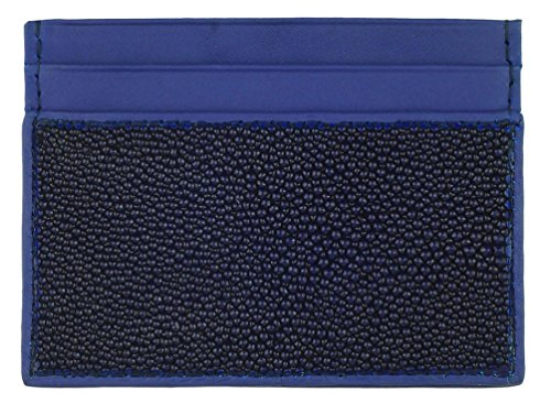 Credit Card Front Pocket Wallet, Stingray Leather, 4 credit card slots, (Stingray Card)