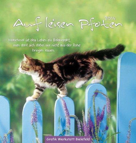 Auf leisen Pfoten 2014: Postkartenkalender