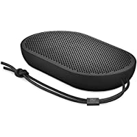 B&O PLAY by Bang & Olufsen Beoplay P2 Portable Bluetooth Speaker with Built-In Microphone (Black)