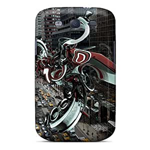 New Tpu Hard Case Premium Galaxy S3 Skin Case Cover(abstractcity)