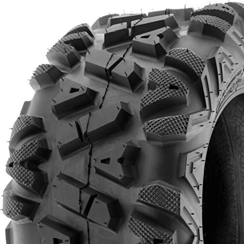 SunF ATV UTV A/T 24x10-12 All Trail 6 PR Tubeless Replacement Tire A033 POWER I, [Single]