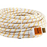 SHD HDMI Cable 2.0V 4k Ultra Support 3D,Ethernet,1080P-30Feet-Golden