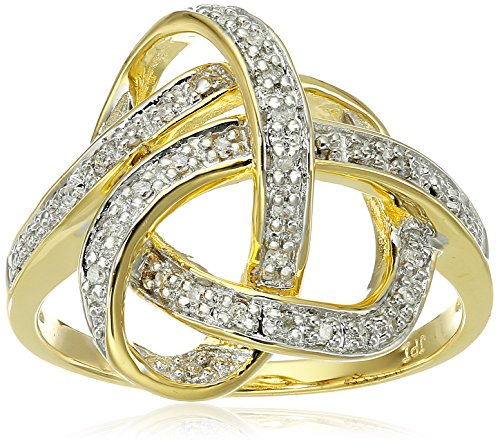 yellow ribbon ring - 8