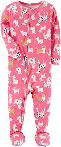 Pajamas Carters Dog - Carter's Baby Girls' 12M-4T One Piece Dog Pajamas 24 Months