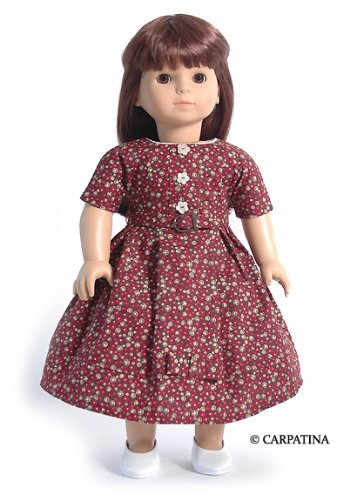 Vintage Style Doll Dress ~ Fits 18