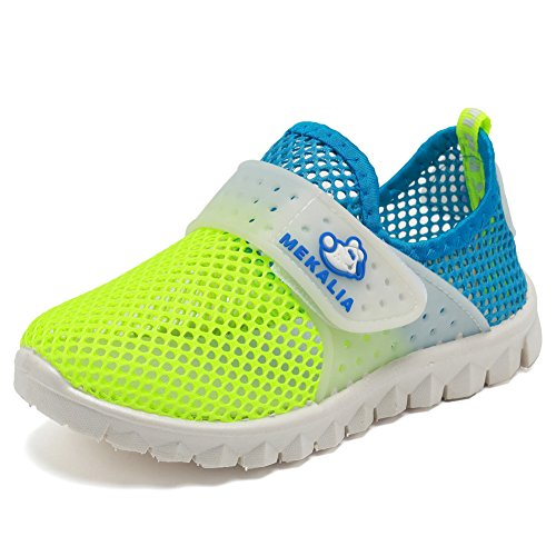 CIOR Boys Girls Breathable Lightweight Sneakers Antislip Shoes For Running Walking Toddler/Little Kid/Big Kid SC276 Orange 32 9Sn9JjQz9R