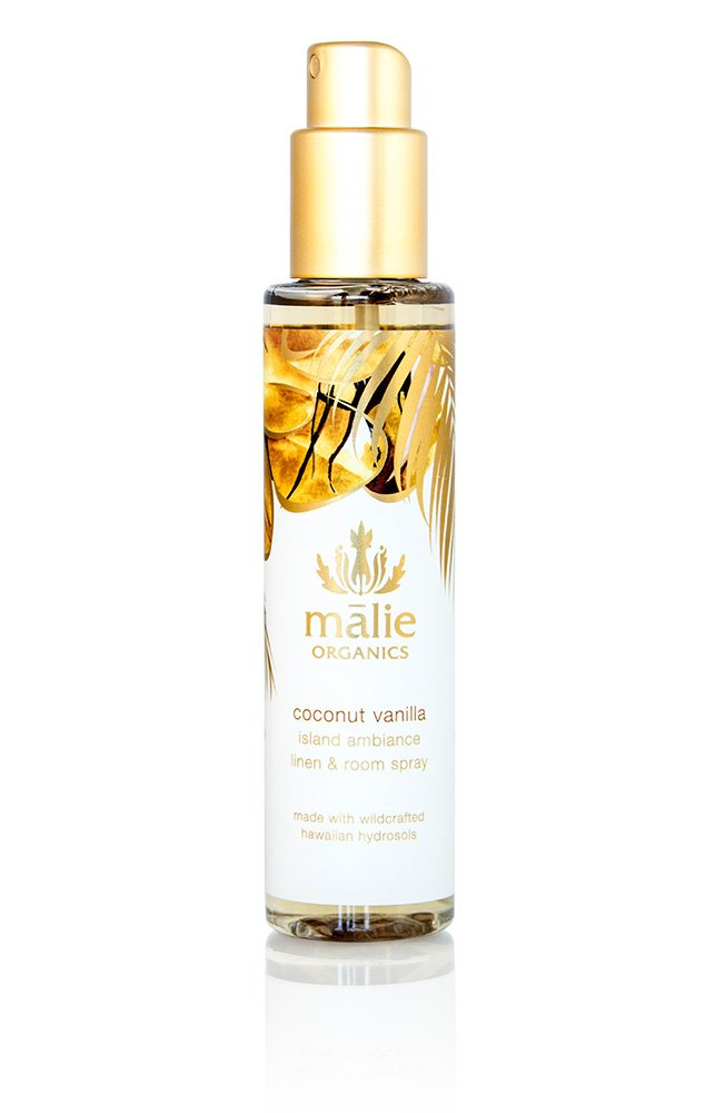 Malie Organics Linen & Room Spray, Coconut Vanilla