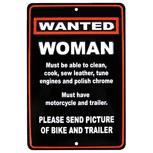 Motorcycle Biker Metal Sign - 9