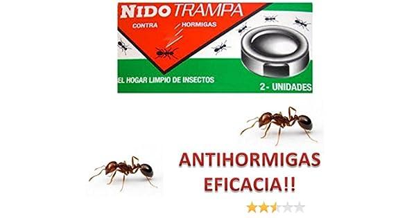 TONOSEVILLA - Nido Trampa Adhesiva contra Hormigas TRAMPAS Eliminar HOGAR Hormiga: Amazon.es: Jardín