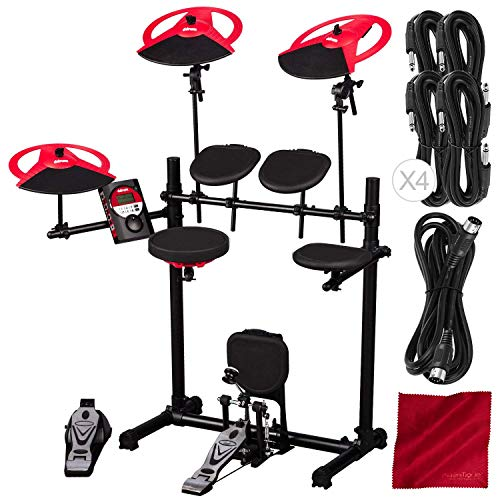 Ddrum DD BETA XP2 Complete Electronic Drum Set with Accessory Bundle