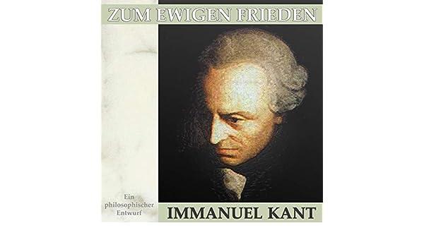 Immanuel Kant: Zum ewigen Frieden - Der erste Zusatz (German Edition)