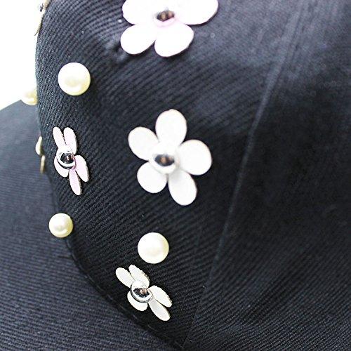 Llxln Gorras De Béisbol De Los Muchachos De Moda Hip Hop Floral Golden  Girls Cap Hat 84fe4677a69