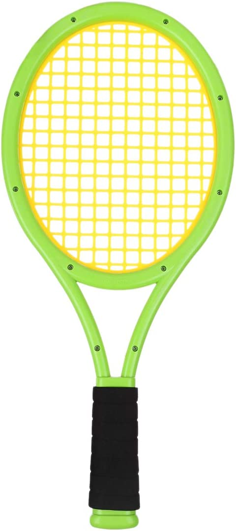 Ggoddess Kids Tennis Racket Set Plastic Badminton Tennis Rackets Balls Set Children Outdoor Sports Toys Training Racquet Badminton Racket
