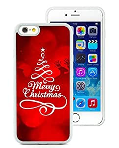 Personalized Design iPhone 6 Case,Merry Christmas White iPhone 6 4.7 Inch TPU Case 23