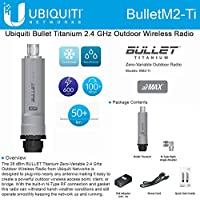 Ubiquiti BulletM2 Titanium Ubiquiti 2.4GHz 802.11n/g Outdoor Radio