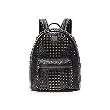 MCM Women's Stark Pearl Stud Backpack