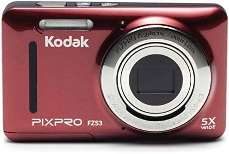 Kodak PIXPRO Friendly Zoom FZ53 16 MP Digital Camera with 5X Optical Zoom and 2.7