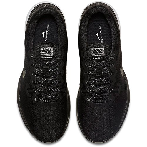 Trainer 7 Sneakers black black In Basses Noir Mtlc season Nike Damen Femme xYt7n6