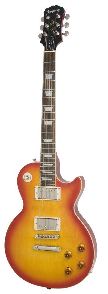 Epiphone Les Paul Tribute Plus Outfit - Guitarra eléctrica, color faded cherry sunburst: Amazon.es: Instrumentos musicales