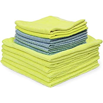 Amazon Com Eurow Microfiber Bag Of Rags Cleaning Towels