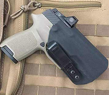 MIE Productions IWB Holster with RMR: Sig P320 Compact RX