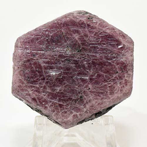 240 Carat Red Corundum Stone Specimen Natural Red Ruby Mineral Gemstone Sparkling Crystal Cab Rock for Carving - Madagascar