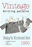 3-piece Baby's Knitted Set - Vintange Knitting Pattern