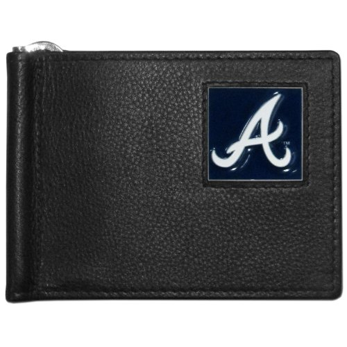 MLB Atlanta Braves Leather Bill Clip ()