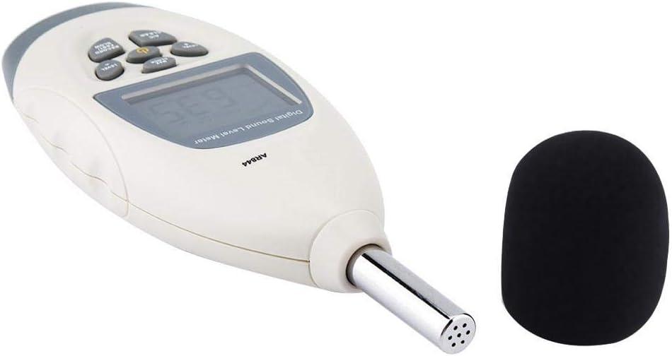 30-130 dB Sonom/ètre USB Digital AR844 Appareil de Mesure du Bruit avec Affichage Num/érique /à 4 Chiffres