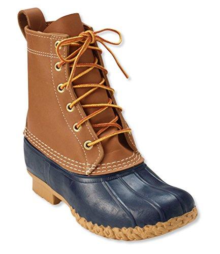 l-l-bean-womens-bean-boot-duck-boot-genuine-leather-10m-tan-navy