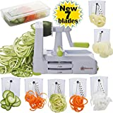 Best Spiralizers - Brieftons 7-Blade Spiralizer: Strongest-and-Heaviest Duty Vegetable Spiral Slicer Review