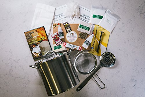 Standing Stone Farms ''Complete'' DIY Cheese Making Kit PLUS DVD - Equipment & Ingredients! Feta, Chevre, Mozzarella, Burrata, Burricotta, Cheddar Cheese Curds, Ricotta, Monterey Jack, Cream Cheese and Butter! by Standing Stone Farms
