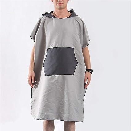 Poncho Toalla De Bata Albornoz para mujer y para hombre con capucha, capa de bata