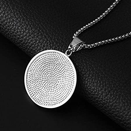 MKHDD Hip Hop Ice Out Chain Cubic Zircon Disc Bubble Letters NY Pendant Necklace for Men Women Jewelry Gifts