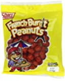 Shari French Burnt Peanuts, 4-Ounce Bags (Pack of 12)
