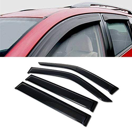 Out Channel Visors Wind Deflector Light Tint Chrysler Town /& Country 96-07 2pcs