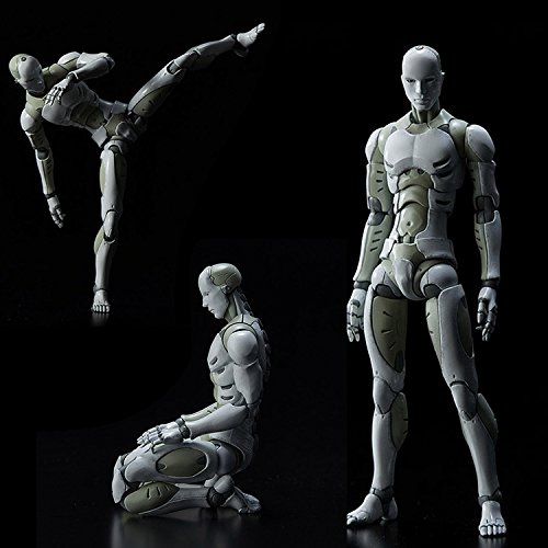 Lznlink Synthetic Human He Men Body Action Figure Figurine 1 12 Scale Play Toys